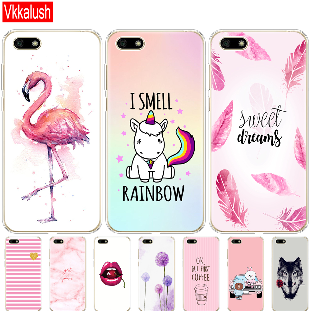 Silicon Case For Huawei Honor 7A Case 5.45