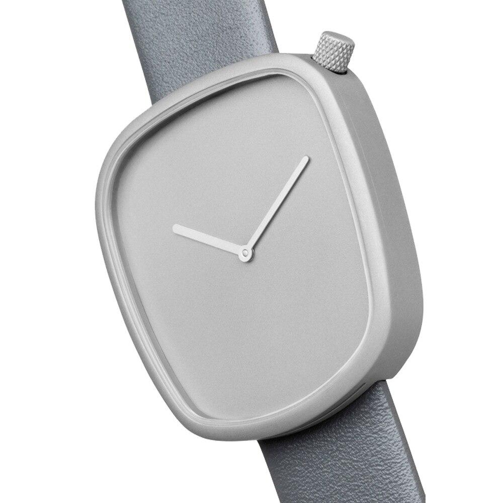 2017 Minimalist Style Unisex Casual Watch Square Creative Quartz Watch