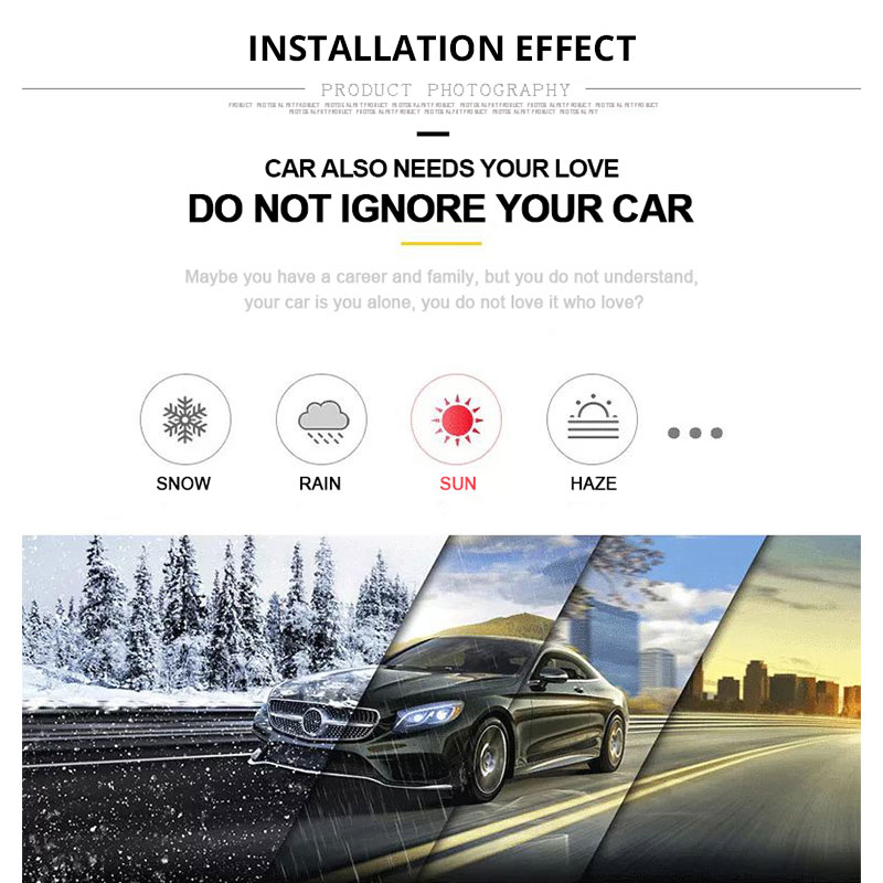 Full Car Cover Sedan SUV Covers Sun Reflective Shade Rain Frost Snow Dust Waterproof Protection Anti UV Outdoor Car Accessories (3)