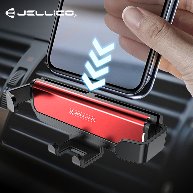 Jellico One Universal Car Phone Holder GPS Stand Gravity Stand For Phone In Car Stand No Magnetic For IPhone X 8 Xiaomi Support
