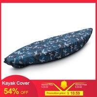 Kayak Storage Cover Universal Sport Waterproof Nylon Solar UV Resistant Dust Storage Cover Boat Canoe Dust Cover Shield