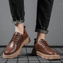 Men Shoes Oxford casual Men Boots Leather Martin Boots New Mens Fashion Work Shoes Safety Casual Sneakers Fashion