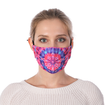 Fashion Printing Reusable Protective PM2.5 Filter mouth Mask anti dust Face mask Windproof Face Mask Face Masks