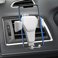 Car-Phone-Holder Car-Accessorie Car-Interior-Bracket Clip-Mount-Stand GPS Air-Vent Gravity