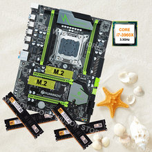 HUANAN ZHI deluxe X79 discount motherboard with M.2 slot new 16G DDR3 1600MHz desktop memory CPU Intel Core i7 3960X 3.3GHz(China)
