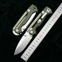 LOVOCOO nowy AD15 składany nóż D2 ostrze stal aluminiowa G10 uchwyt odkryty camping polowanie kieszeń survivalowa noże do owoców narzędzia edc
