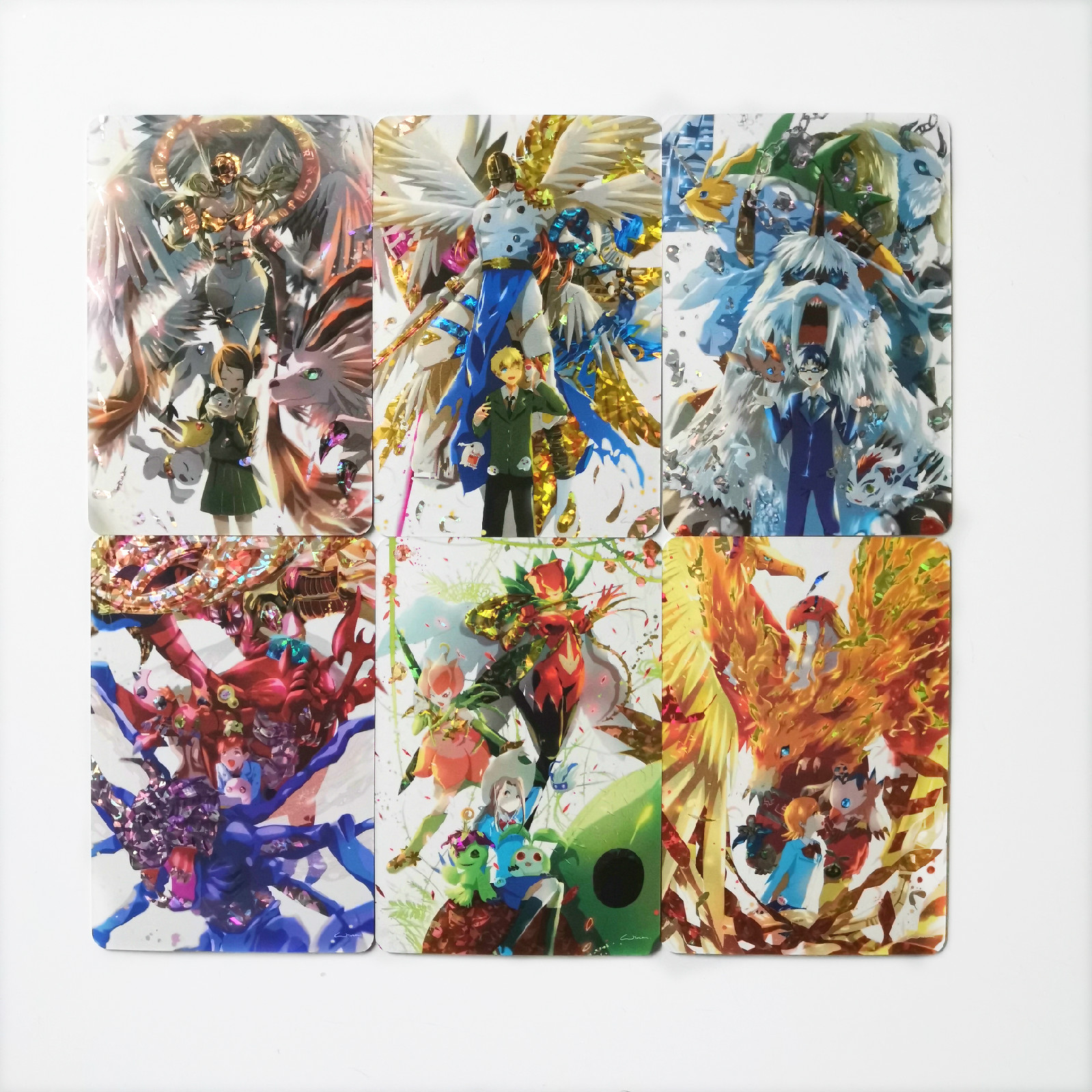19pcs/set Digital Monster Toys Hobbies Hobby Collectibles Game Collection Anime Cards