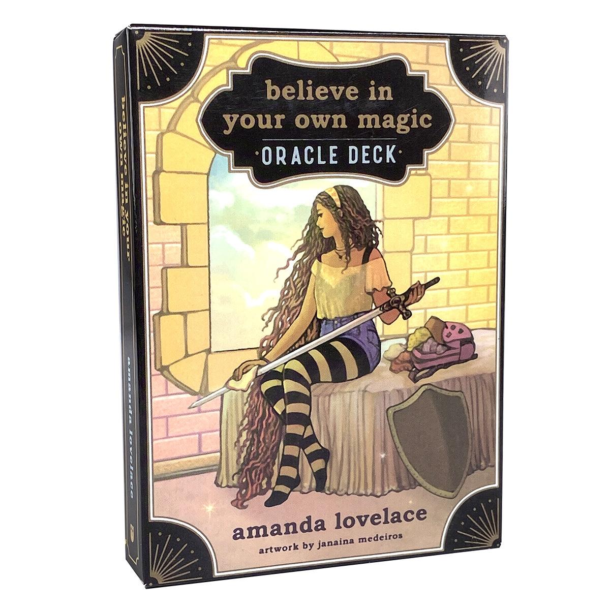 Believe in Your Own Magic Oracle Deck Tarot Card Board Game for Adult English Version Tarot Deck Playing Card Fate Divination