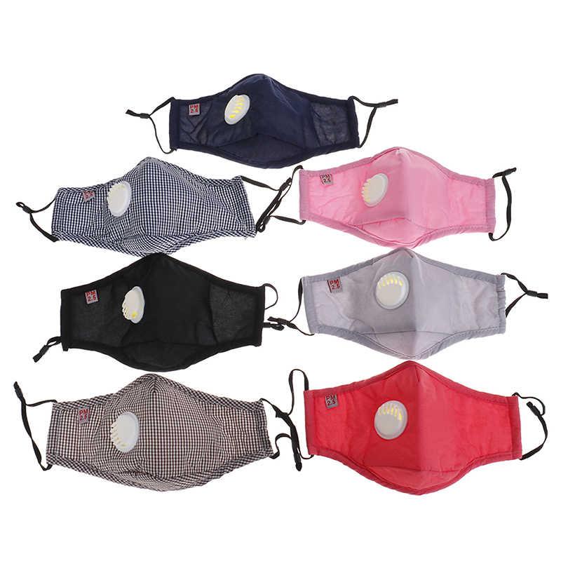 Nuevas máscaras a prueba de polvo Anti-polvo válvula de respiración cubierta protectora Facial belleza y salón médico orejeras cara boca máscaras maquillaje