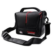 Сумка для камеры fosoto DSLR, Модный чехол для цифровой фото и видеокамеры, водонепроницаемая наплечная сумка для камеры и объектива Sony Canon, Nikon