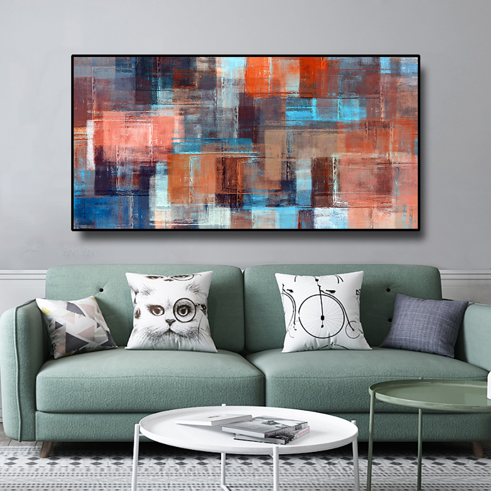 Canvas Poster Painting Simple abstract Nordic Creative Decor Picture Modern Home Decoration Gift For Office Hotel Living Room