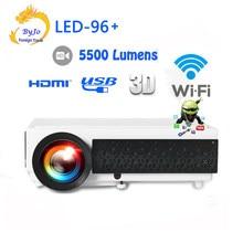3D светодиодный проектор для домашнего кинотеатра, 10 м HDMI или SD