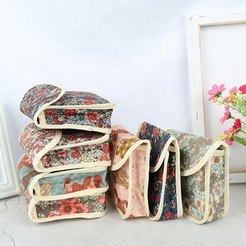 12 styl wielokrotnego użytku zmywalny torba na pieluchy dla podpaska higieniczna menstruacyjna ciocia torba Mama ręcznik sanitarny Pad torba Dropshipping tanie i dobre opinie Jiauting CN (pochodzenie) Cotton 1 Pcs Sanitary Napkin Bag