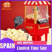 1200W 110-120V Popcorn Maker Electric Making Pop Corn Machine Popcorn Pop Corn for Household DIY Corn Popper