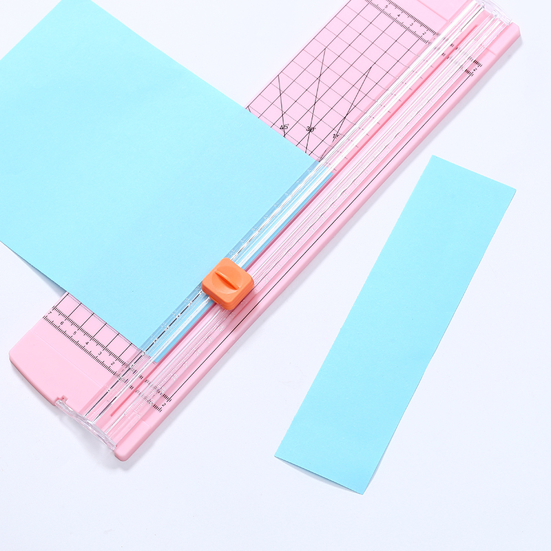 Precision Paper Cutter Cutting Mat A4 A5 Paper Photo Label Scrapbooking Safety Trimmer For Office School Kids DIY Art Ruler