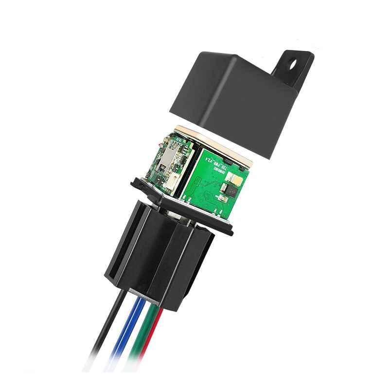 Mini GPS Tracker CJ720 voiture relais GPS Tracker conception cachée véhicule GPS localisateur géo-clôture couper l'huile Vibration/alarme de survitesse