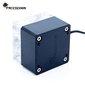Image 5 - FREEZEMOD מחשוב קירור מחשב מים אילם קריר משאבת PWM אינטליגנטי זרימת 800L/H 12V/5V RGB אור aure. PU FS4M J