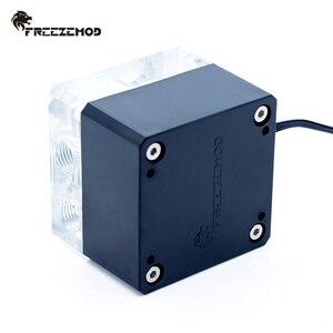 Image 5 - FREEZEMOD bilgisayar soğutma pc su soğutucu dilsiz pompa PWM akıllı akış 800L/H 12V/5V RGB ışık aure. PU FS4M J