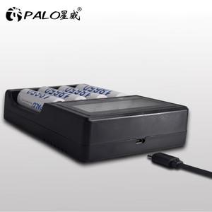 Image 2 - 4 slots Multifunction smart fast 3.7V 18650 charger for 3.7V lithium 14500 16340 18500 18650 17500 22650 26650 models battery