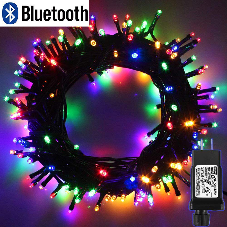 10M 20M 30M 50M 100M Bluetooth Control LED String Lights 31V Low Voltage Christmas Lights For Outdoor Xmas Party Wedding Decor