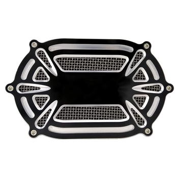 Air Cleaner Motorcycle System Intake Filter Cover For Harley Sportster 883 XL 1200 Dyna Softail Touring Road Street Glide motorcycle 1 25 monkey ape handlebar 12 14 16 rise for 1996 2018 harley davidson softail sportster dyna 1998 2013 road glide