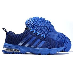 Image 2 - סניקרס לגברים חיצוני נוח אימון ספורט נעלי באיכות גבוהה אור יוניסקס זוג אוהבי מגמת נעלי ריצת 35 47