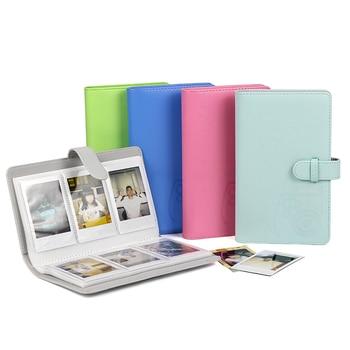 96 Pockets 3 Inch Mini Wallet Photo Album Book PU Leather Cover for Fujifilm Instax Mini 9 8 70 7s 90 25 50s Film Photo Paper