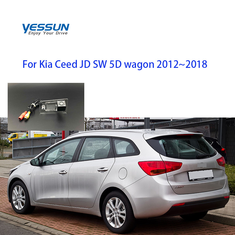 Yessun Car Camera For Kia Ceed JD SW 5D Wagon 2012~2018  Car Rear View Camera For Kia Ceed Rear Camera