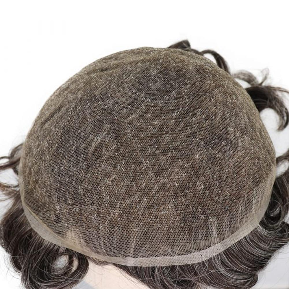 Купить мужские накладные волосы bymc натуральные для волос сменная