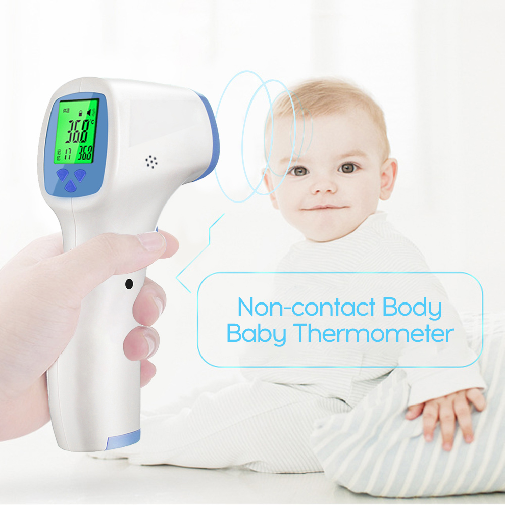 Infrared Thermometer non contact Forehead Ear Baby children/'s adults electronic