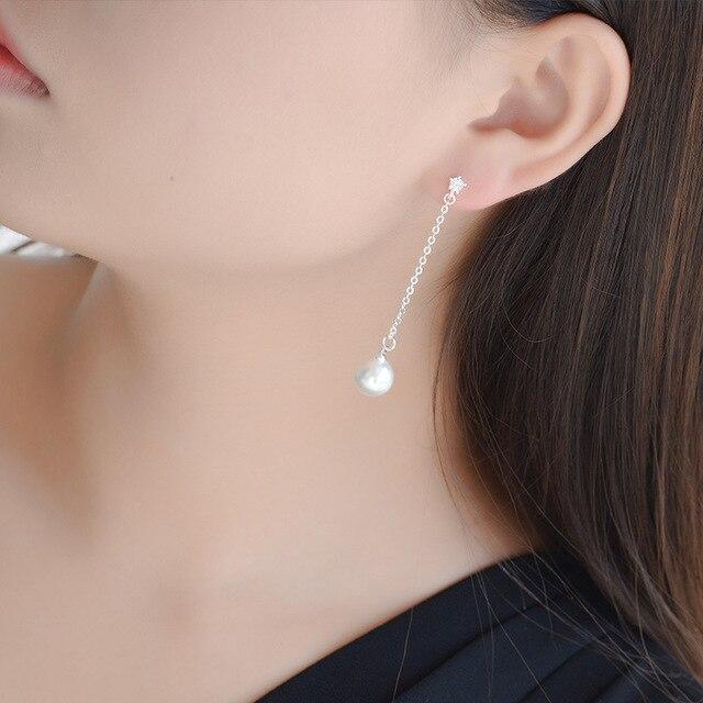 Купить женские серьги гвоздики из серебра 925 пробы с искусственным картинки