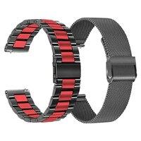 Voor Huawei Horloge GT2 Pro Gt 2 46Mm Band Rvs Metalen Band Honor Magic 2 46Mm Gs pro Armband Voor Ticwatch Pro3 Pro2020