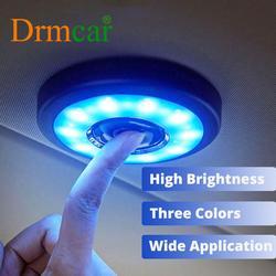 Lumière de coffre intérieur de voiture Portable Led toit lampe de lecture aimant Type tactile lampe de nuit sans fil lampe de plafond tronc dôme lumière 1111VENTE3 25-3USD 1111VENTE6 50-6USD 1111VENTE9 80-9USD 1111VENT