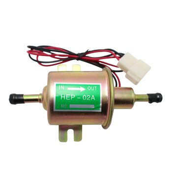 Electric Fuel Pump Low Pressure Universal Diesel Petrol Gasoline Pump 12V For Car Motorcycle rastp 12v electric fuel gas oil pump 3 6 psi pressure hep 02a universal for car truck boat rs fp009