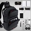 Мужские сумки через плечо, модные сумки через плечо, USB зарядка, сумка-мессенджер, нагрудная сумка, сумка Оксфорд, на одно плечо, ремень, упако...