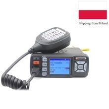 Mini car radio BAOJIE BJ BJ 318 25W Dual Band 136 174 e 400 490MHz FM Radio BJ318 walkie Talkie BJ 218 aggiornamento