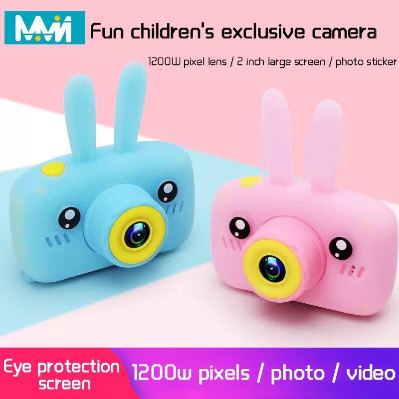 Children Mini Camera Full HD 1080P Portable Digital Video Photo Camera 2 Inch Screen Display Children ForKid Game Study Camera