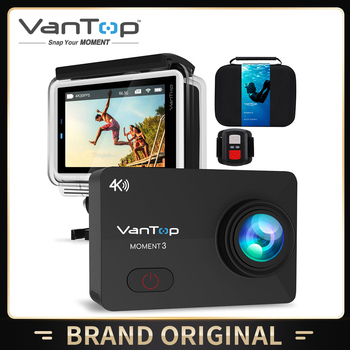 VanTop Moment 3 Action Camera WiFi Remote Control Sports Video Camcorder DVR Waterproof pro - discount item  40% OFF Camera & Photo