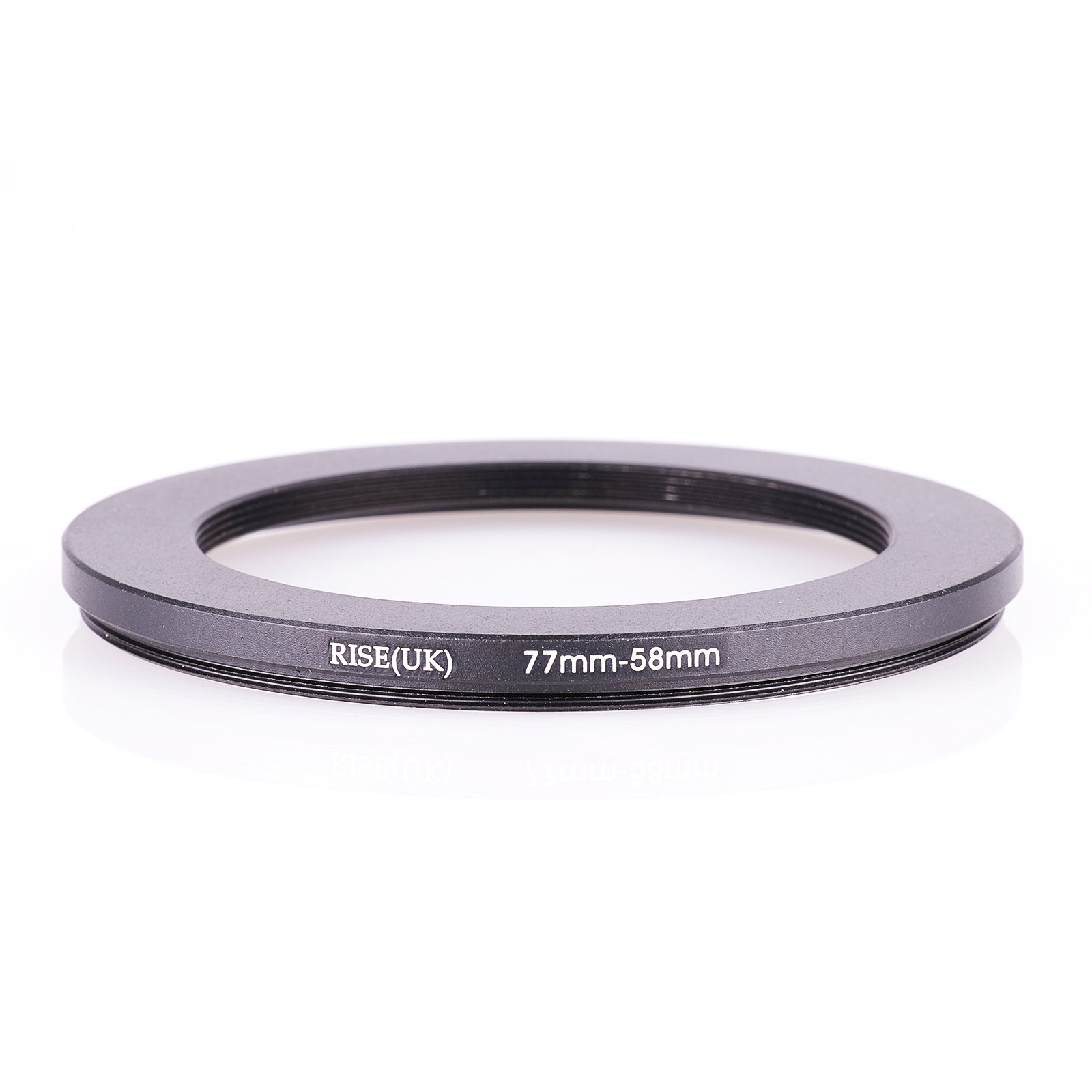 RISE(UK) 77mm-58mm 77-58 Mm 77 To 58 Step Down Filter Ring Adapter