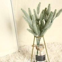 1 wiązka plastikowa trawa ogonowa sztuczne rośliny wazony do dekoracji wnętrz akcesoria ślubne dekoracyjne sztuczne florystyki