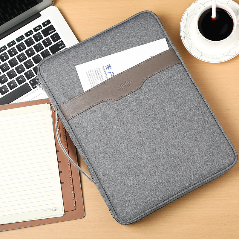 Office Document Storage Bag Men's Business Travel Ipad Organizer Briefcase File Pouch Home Certificate Passport Card Accessories