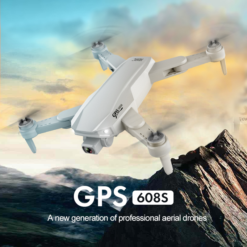 Caldecott S608 Pro GPS Drone 6K Dual Camera Professional Aerial Photography Brushless Foldable Quadcopter RC Distance 3KM Gifts