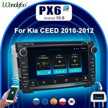 2 DIN Android 10 Auto radio Für Kia Ceed Venga 2010 2016 2DIN android auto audio stereo navigation bildschirm multimedia bluetooth