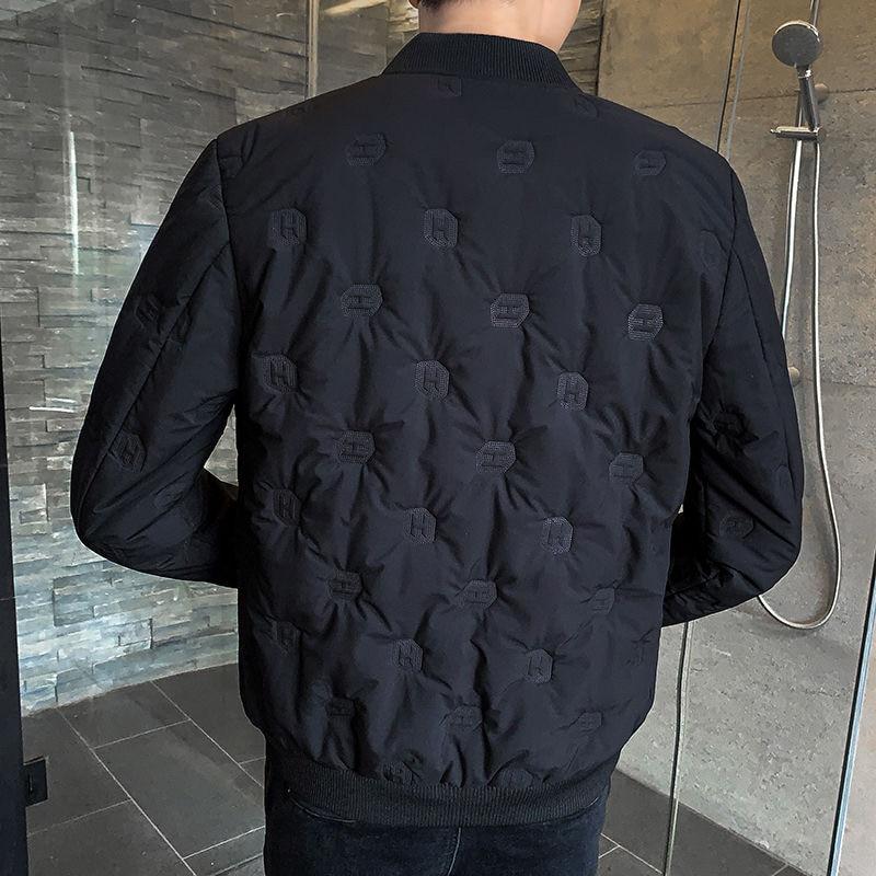 7XL 6XL  jacket Men Winter Thickened Parkas Slim cut Warm Padded Overcoats Stand Collar Male Wind Breaker fit Jack
