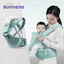Sunveno Baby Carrier Front Facing Hipseat Kangaroo Ergonomic Baby Sling Carriers for Newborn Toddler Kids Loading Bear 20Kg(China)