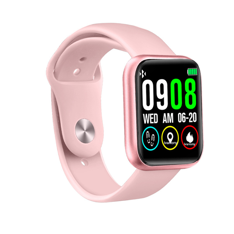 Montre intelligente femmes Sport Fitness Tracker étanche Reloj Inteligente fréquence cardiaque pression artérielle tactile complet Smartwatch Android IOS