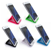цена на Mobile Phone Holder Foldable cell phone support Plastic holder desktop stand for your phone Smartphone & Tablet phone holder car