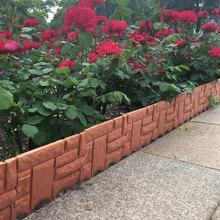 6 шт. декоративная садовая изгородь пластиковая лужайка травяная окантовка барьер для двора растение Цветочная кровать граница забор садовое украшение заборы