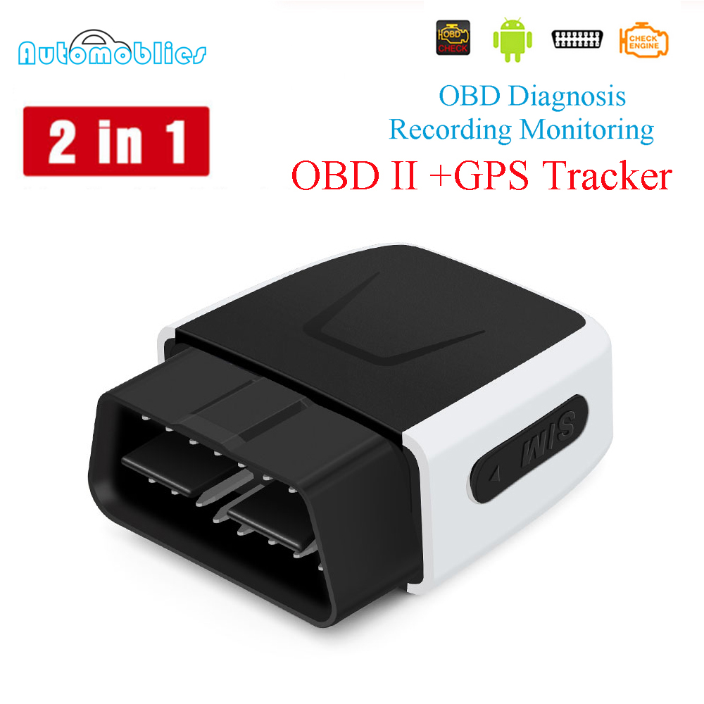 OBD2 Diagnostic 16Pin M to F Extension Cord Cable Coban TK306A 306B GPS Tracker