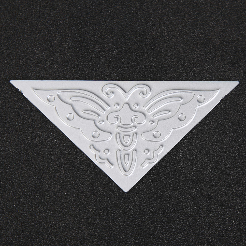 Triangle Unique Butterfly Metal Cutting Dies For DIY Scrapbooking Craft Embossing Die Cut Making Stencil Template New 2019 in Cutting Dies from Home Garden